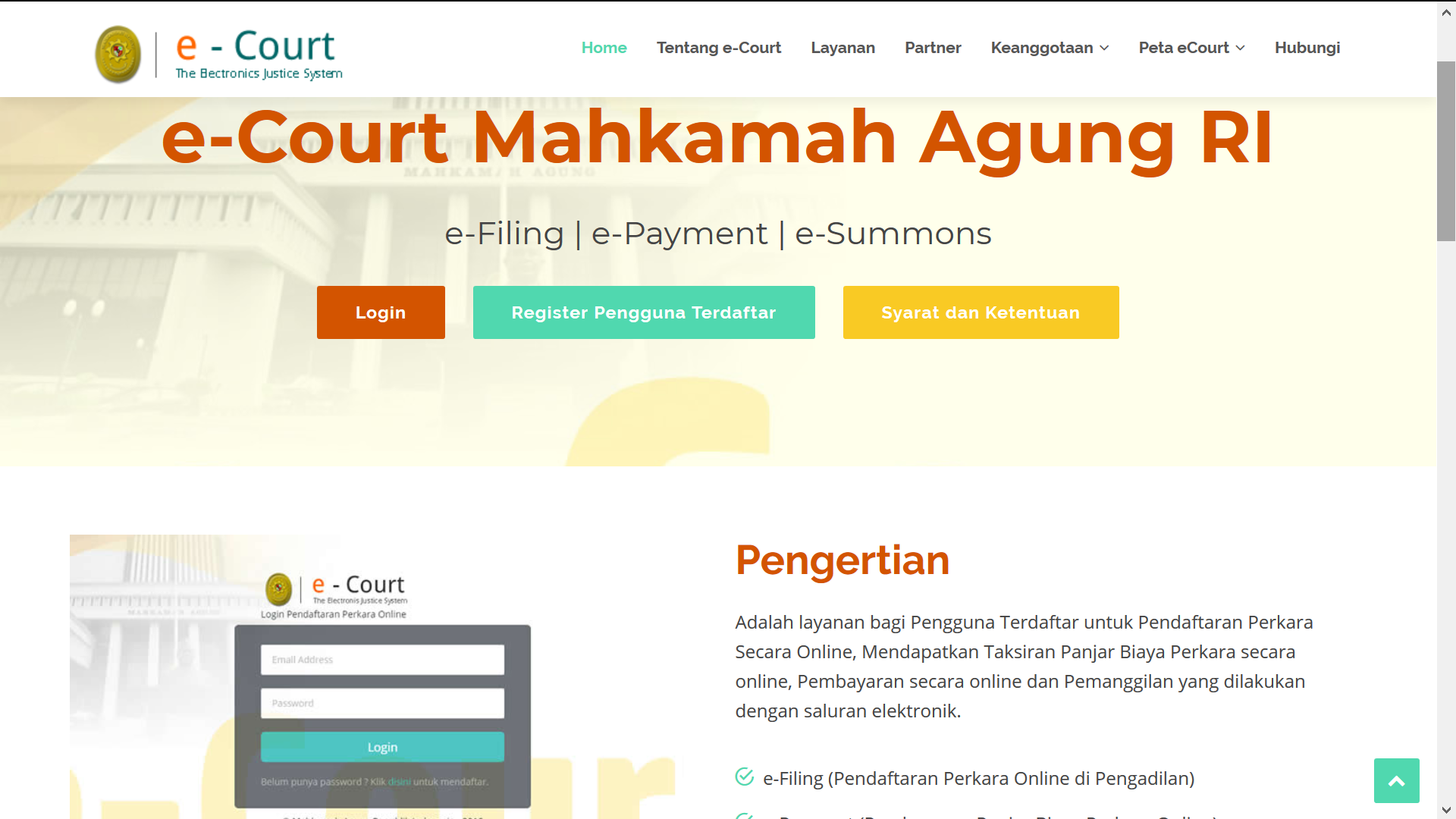 E-Court MA RI